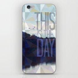 This is the Day Christian Design iPhone Skin
