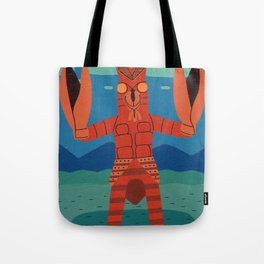 Alien Baltan Tote Bag