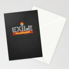 Exile From Ullathorpe - Our Logo Stationery Cards