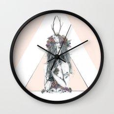 Nature Girl Wall Clock