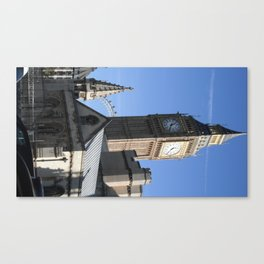 London Blues Canvas Print