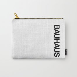 BAUHAUS AND THE WHITE Carry-All Pouch