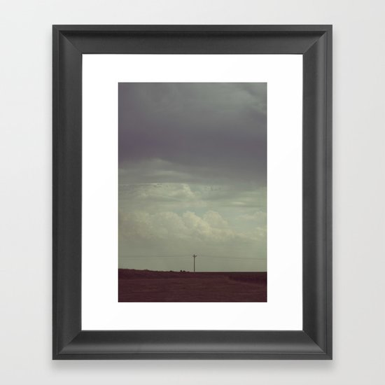 My Thoughts on the Midwest Framed Art Print