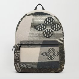 Black and white picnic Backpack