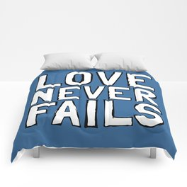 #Love Never Fails Comforters