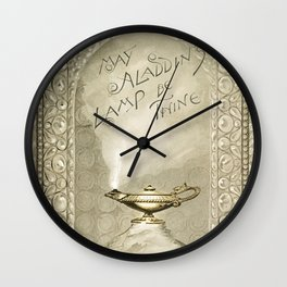 Christmas and birthday cards with poems from Aladdins Lamp by Joaquin Millers poem Wall Clock