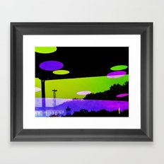 An Altered View of NYC Framed Art Print