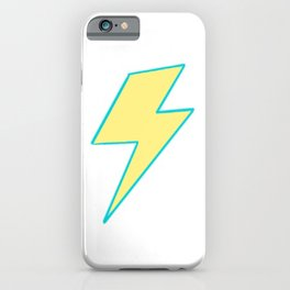 Bolt - Yellow iPhone Case