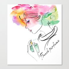 French perfume Canvas Print