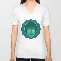 han solo V-neck T-shirts featuring Han Solo by Kuki