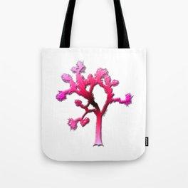 Joshua Tree Strawberry by CREYES Tote Bag