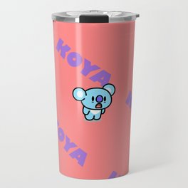 BTS RM BT21 Koya Travel Mug