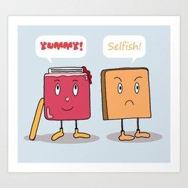 Sweet Couple Art Print