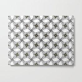 Barbwire Metal Print