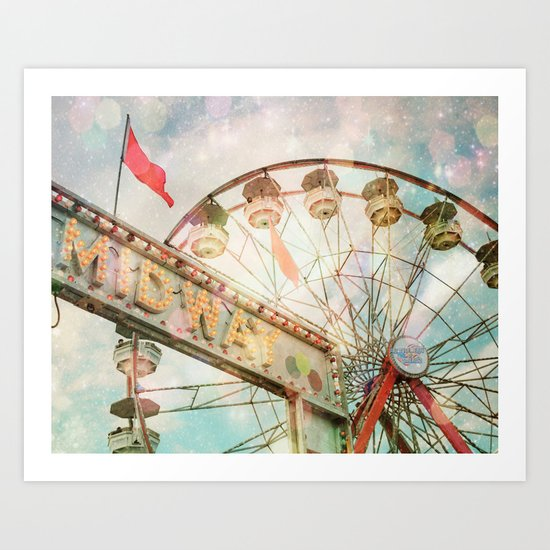 A Carnival In the Sky II Art Print