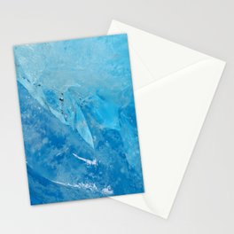 glacial ice 2 Stationery Cards