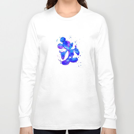 MICKEY, blue Long Sleeve T-shirt