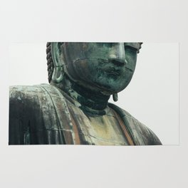 Great Buddha in Kamakura Rug