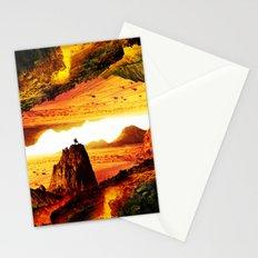Lava Isolation Stationery Cards