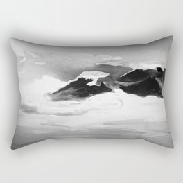 Ah Create and Destroy in Shadow Rectangular Pillow