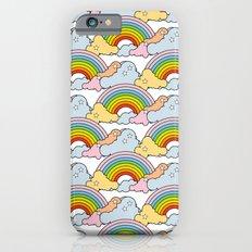 Rainbows to the Max (White) Slim Case iPhone 6s