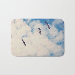 Flying Over Seas Bath Mat