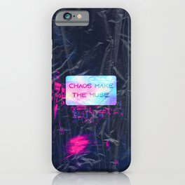 Chaos make the muse iPhone Case