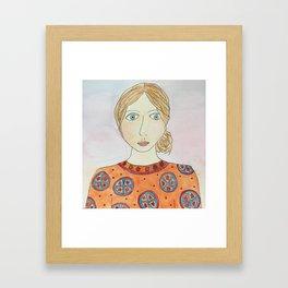 Emiline Framed Art Print