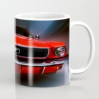 mustang Mugs featuring Mustang Sally by Cozmic Photos