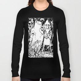 When Leprechauns Go Bad A Surly Drunken Clurichaun Long Sleeve T-shirt