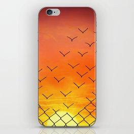 sunset escape iPhone Skin