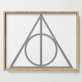 DEATHLY HALLOWS TRIANGLE Serving Tray