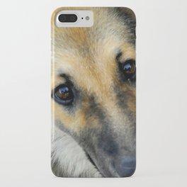 Up close & dog iPhone Case