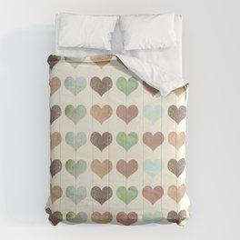 DG HEARTS - RUSTIC Comforters