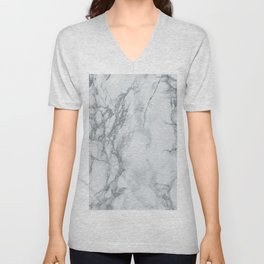Gray Blue Granite Unisex V-Neck