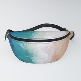 Watercolour Summer Beach IV Fanny Pack