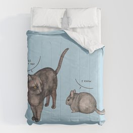 Missed furry friends Comforters