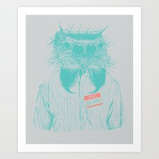 Mr. Bitey Art Print