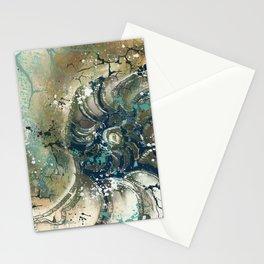 Nautical Nautilus Stationery Cards