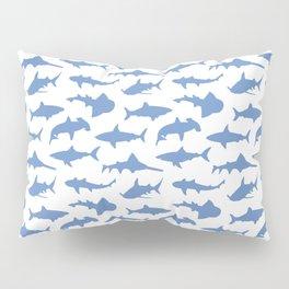 Sharks in Danube Blue Pillow Sham