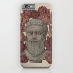 Plato in the Peonies iPhone 6 Slim Case