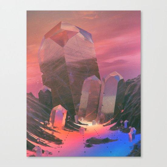 CHAMPAGNE GLITCH (everyday 10.19.15) Canvas Print