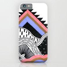 Neon Coral Landscape Slim Case iPhone 6s