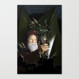The Chamber of Airbrush Magic Canvas Print