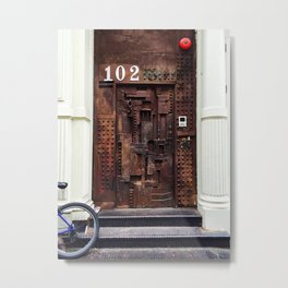 DOOR 102 Metal Print