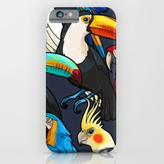 Macaw and Toucan Tropical Pattern Slim Case iPhone 6s
