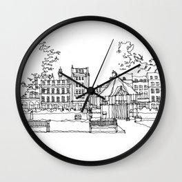 Soho SQ London Wall Clock