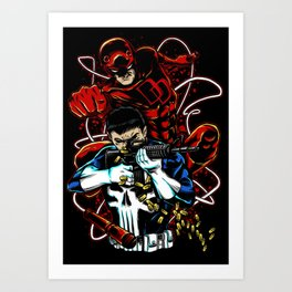 Dare to Punish! 02 (Crab Metalitees x CoDDesigns) Art Print