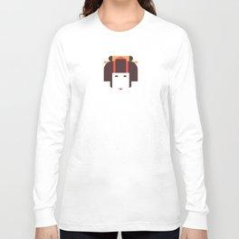 Japan Noble Woman Long Sleeve T-shirt