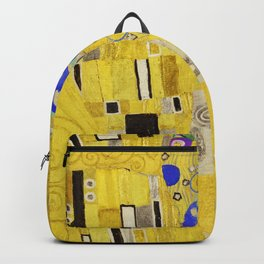 The Kiss, Gustav Klimt Backpack